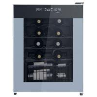 China Deluxe 24 Bottles Single Zone Wine Cooler 50-85% Humidity Range CE Certificated for sale