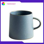 Retro porcelain mug stoneware glazed ceramic coffee mugs Ceramic promotional gift for sale