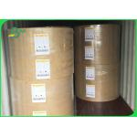 One Side PE Coated Brown Kraft Paper Coils For Soap Wrapper 50g 60g Food Grade for sale