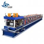 Automatic Touch Screen CZ Purlin Roll Forming Machine For Galvanized Metal Steel Sheet for sale