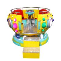 China Multiplayer Disco Amusement Kiddie Rides Hot Sale Swing Game Machine for sale