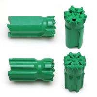 Drifing / Tunneling Retractable Button Bit Dia 45 - 76mm R32 Spherical / Parabolic Buttons for sale
