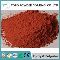 RAL 1017 Thermoset Powder Coating For Business Machines Saffron Yellow Color for sale