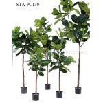 Popular Faux Fiddle Leaf Fig Tree Artificial Plants And Trees With Vibrant Color for sale