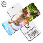 Lenticular Printing Paper Plastic PET 3D Bookmark Of Animals For Gifts for sale