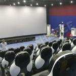 China Snow Special Effect In 7D Movie Theater Vibration Frequency 12HZ for sale
