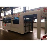 Precision Flat Die Cutter Creasing Machine For Making Carton Box / Automatic Die Cutter Paperboard Machine for sale