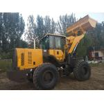 China Front Loader Articulated Wheel Loader 4000 kg Rated Load Color Customized For Building for sale