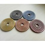 China 4 Inch Metal Bond Diamond Polishing Pad , Polishing Tools for Stone and Concrete for sale
