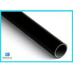 Black Eco-Friendly  Anti-static Lean Pipe Plastic Coated Steel Pipe For Workshop for sale