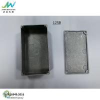 China Diecast Aluminum Electronics125B Enclosure dimensions 4.8*2.6*1.55 Similar HAMMOND 1590N1 for sale
