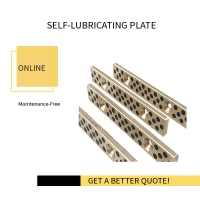 China Copper Alloy Self Lubricate Guide Plate | Mould & Die for sale