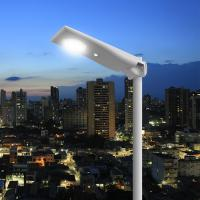 Motion Sensor Solar Panel Street Lights Outdoor Remote Control 3 Years Warranty for sale
