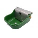 China 2.9L Powder Coated SS304 Cover Cattle Water Bowls for sale