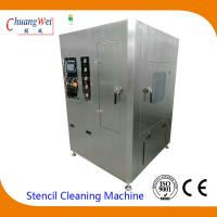 Unique Double Four Spray Bar Cleaning System smt stencil cleaner with 2PCS 50L Tanks for sale