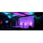 Black / Silver Cuttable Aluminum Stage Platform Horizontal Removable LED Stage