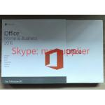 China Original Microsoft Office Home and Business 2016 for 32 / 64 Bit OEM New Key Sticker Label for sale