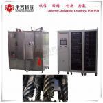 Metal Screw Thin Film Coating Equipment , PVD Vacuum Metalizing Machine MF Sputtering for sale