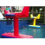 Yellow Inflatable Basketball Hoop for sale