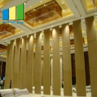 Restaurant Church Concert Hall Company Movable Sliding Partition Walls for sale