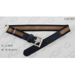 Antic Silver Buckle Navy PU Tip Elastic Clip Belt , Adjustable Clip Childrens Elastic Belt for sale