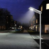 1800LM Remote Control Street Light 15 Watt PV Module IP65 With MPPT Controller for sale