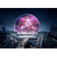 Flexible Ball LED Video Display Sphere Display Screen High Resolution Full Color Stage Backdrop for sale