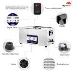 FCC 500W Heating Benchtop Ultrasonic Cleaner For Printing Screen Stencil
