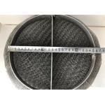SS 304 / 316 Wire Mesh Demister Pad For Gas Liquid Separation Air Purification
