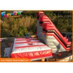 10.6m High Stunt Big Air Bag Jump , Inflatable Freefall Stunt Jump With Jump Cushion for sale