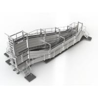 Standard Outdoor Livestock Loading Ramp, 4.7m Deluxe Portable Sheep Ramp for sale