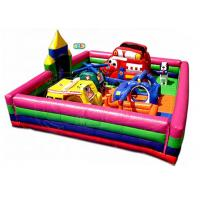 20 Kids Capacity Inflatable Bounce House Combo With Rescue Worker Theme for sale