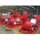 China Ductile Cast Iron Casing Split Case Centrifugal Pump , Horizontal Split Pump for sale
