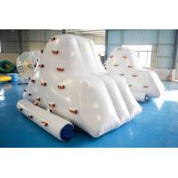 Inflatable Iceberg Climber / Inflatable Iceberg Water Toy For Kids for sale