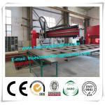 Corrugated Beam Welding Machine For Dump Truck Panel , H Beam Welding Line