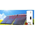 China Heat Pipe Solar Water Heater Winter , Copper Coil Solar Water Heater For House for sale