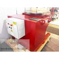 360° Rotary Welding Positioner / Welding Turn Table Rotary And Tilting Red Color for sale
