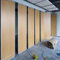 Office Sliding Mobile Removable Room Partition Acoustical Room Dividers For Conference Room for sale