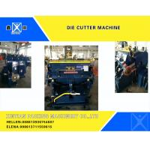 Smooth Creasing Cutting Machine , Hot Stamp Die Cutter Machine 930x670mm for sale