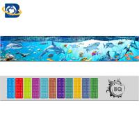 China Straight 3D Lenticular Ruler For Promotional Gift Stationery Custom Shape supplier