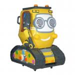 China Cartoon Tank Yellow Kiddie Ride for Amusement Park for sale