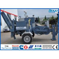China High Voltage Conductors Hydraulic Cable Puller Stringing Equipment for Transmission Line 100kN for sale
