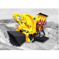 Pneumatic Air Rock Loading Machine 0.26 M3 Bucket Volume With Air Motor
