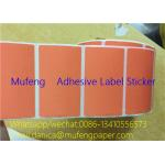 China Waterproof Adhesive Sticker Roll Heat Sensitive Various Core Sizes With SGS Approval for sale