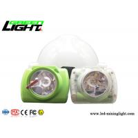 Transparent Color LED Mining Light ABS/PC Material 13000lux 14-16 Hours Working Time for sale