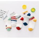 China Custom Kids Boy Socks Cotton Baby Socks Knitting Kids Sock Plain Color for sale