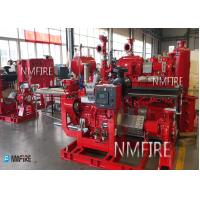 China 250GPM@110PSI Ul Listed DIESEL ENGINE DRIVER End Suction Pump set with Jockey Pump for sale
