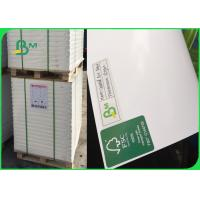 China White Gloss Coated Paper Roll Two Side Coated 180GSM 200GSM For Brochure for sale