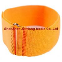 China Buckle Clasp Nylon Adjustable Hook And Loop Fastener Strap For Wrist  Armband Straps supplier