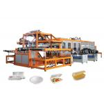 High Efficiency Fast Food Box Machine White Styrofoam Food Containers Making for sale